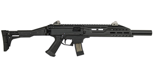 "CZ 08508 Scorpion Carbine, 9mm, 16.2"" BBL, Adj Fold Stk, Black Finish, 10+1 Rds"