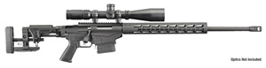 Ruger Precision Rifle 18008, 6.5 Creedmoor, 24 in Chrome-moly BBL, Bolt-Action, Ruger MSR Folding Stock, Adj Trigger, Muzzel Brake,Black Finish, 2-10 Rds Mags