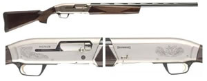 Browning Maxus Hunter Shotgun 011608204, 12 Gauge, 28 in BBL, 3.5 in, Gloss Blue / Walnut