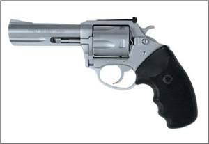 Charter Arms Target Bulldog Revolver 74440, 44 Special, 4 in, Stainless / Rubber Grips, Adj Sights, 5 Rd