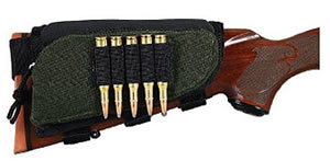 Allen 20550 Buttstock Shell Holder w/Pouch