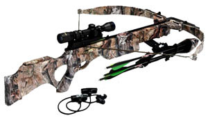 Excalibur Equinox Crossbow 6770, w/Scope & Thumbhole Stock, 225 lb Draw Weight