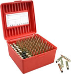 MTM R100MAG30 100 Round WSM/WSSM Red Rifle Ammo Box