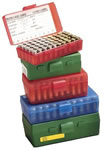 MTM P503829 50 Round 38-357 Pistol Ammo Box, Red