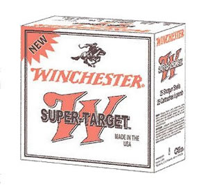Winchester Super Target TRGTL128, 12 Gauge, 2 3/4 in, 1 oz, Lead, 1200 fps, Shot #8 1/2, 25 Rd/bx, Case of 10 Boxes