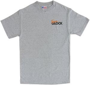 Glock AA03122 Short Sleeve 3X-Large Ash Gray T-Shirt