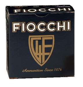 Fiocchi Hunting Loads 12S118, 12 Gauge, 2 3/4 in, 1 1/8 oz, 1375 fps, #2 Steel Shot, 25 Rd/bx, Case of 10 Boxes