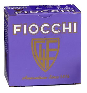 Fiocchi Helice Shotshells 12HEL, 12 Gauge, 2 3/4 in, 1 1/4 oz, 1350 fps, #7 1/2 Nickel Plated Lead Shot, 25 Rd/bx, Case of 10 Boxes