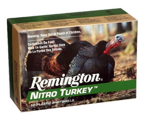 Remington Nitro Turkey Heavy Magnum NT12H6, 12 Gauge, 3 in, 1 7/8 oz, 1210 fps, #6 Lead Shot, 10 Rd/bx
