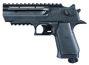 Umarex Baby Eagle .177 Caliber Semi-Automatic CO2 Pistol w/Bonus Picatinny 2257002