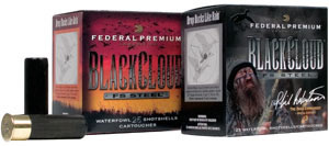 Federal Premium Black Cloud Waterfowl Shotshells PWB1432, 12 Gauge, 3 in, 1 1/8 oz, 1635fps, #2 Steel Shot, 25 Rd/bx, Case of 10 Boxes