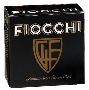 Fiocchi Shooting Dynamics Light Clay Target Loads 12SD18L, 12 Gauge, 2 3/4 in, 1 1/8 oz, 1165 fps, #8 Lead Shot , 25 Rd/bx, Case of 10 Boxes