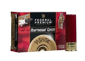 Federal Premium Vital Shok Coyote PHC120BB, 12 Gauge, 3 in, 1 1/2 oz, Tungsten, 1350 fps, #BB Shot, 5 Rd/bx