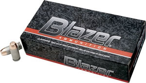 CCI Blazer Handgun Centerfire  Ammunition 3542, 357 Remington Mag, Jacketed Hollow Point, 158 GR, 1150 fps, 50 Rd/bx