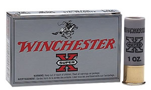 Winchester Super X Rifle Slugs XRS123, 12 Gauge, 3 in, 1 oz, 1400 fps, 5 Rd/bx
