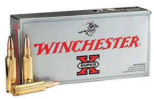 Winchester Super-X Centerfire Rifle Ammunition X30303, 30-30 Winchester, Power-Point, 170 GR, 2200 fps, 20 Rd/bx