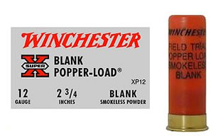 Winchester XP12, 12 GA, Smokeless Blank, 25 Rd/bx, Case of 10 Boxes
