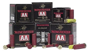 Winchester AA Light Target AA129, 12 Gauge, 2 3/4 in, 1 1/8 oz, 1145 fps, #9 Lead Shot, 25 Rd/bx, Case of 10 Boxes
