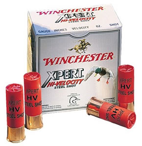 Winchester Xpert High Velocity Steel WEX12L3, 12 Gauge, 3 1/2 in, 1 3/8 oz, 1550 fps, #3 Steel Shot, 25 Rd/bx, Case of 10 Boxes
