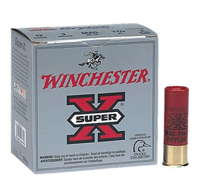 Winchester Super X Dryloc Super Steel XSM122, 12 Gauge, 2 3/4 in, 1 1/4 oz, 1350 fps, #2 Steel Shot, 25 Rd/bx, Case of 10 Boxes