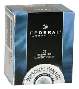 Federal Personal Defense Ammunition C41A, 41 Remington Mag, Jacketed Hollow Point, 210 GR, 1230 fps, 20 Rd/bx