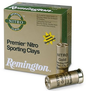 Remington Premier STS Target Loads STS12NSC7, 12 Gauge, 2 3/4 in, 1 1/8 oz, 1300 fps, #7 1/2 Lead Shot, 25 Rd/bx, Case of 10 Boxes