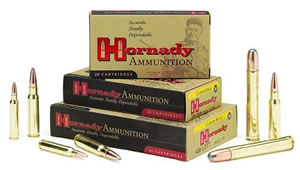 Hornady Rifle Ammunition 8062, 7 mm Remington Mag, SST, 154 GR, 3035 fps, 20 Rd/bx