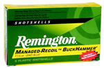 Remington Express Managed Recoil BuckHammer Rifle Slug RL12LSS, 12 Gauge, 2 3/4 in, 1 1/8 oz, 1350 fps, Lead Slug, 5 Rd/bx
