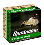 Remington Pheasant Loads PL126, 12 Gauge, 2 3/4 in, 1 1/4 oz, 1330 fps, #6 Lead Shot, 25 Rd/bx, Case of 10 Boxes