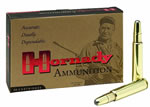 Hornady Rifle Ammunition 8265, 416 Rigby, Full Metal Jacket, 400 GR, 2415 fps, 20 Rd/bx