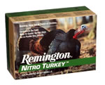 Remington Nitro Turkey Magnum NT12354, 12 Gauge, 3 1/2 in, 2 oz, 1300 fps, #4 Lead Shot, 10 Rd/bx