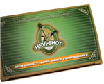 Hevishot Waterfowl 43504, 12 Gauge, 3 1/2 in, 1 3/8 oz, 1500 fps, #4  Shot, 10 Rd/bx