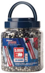 Crosman 5000 20 Gram Count Soft Air White BBs SAP5020