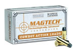 Magtech Cowboy Action Cartridges 4440B, 44-40 Winchester, Lead Flat Nose, 225 GR, 725 fps, 50 Rd/bx