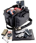 Uncle Mikes Black Range Bag w/Web Carry Handles 52411