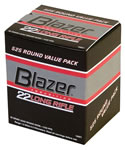 CCI Blazer Rimfire  Ammunition 0021, 22 Long Rifle, Round Nose, 40 GR, 1235 fps, 50 Rd/bx