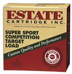 Estate Super Sport Target SS20, 20 Gauge, 2 3/4 in, 7/8 oz, 1200 fps, #9 Lead Shot, 25 Rd/bx, Case of 10 Boxes