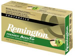 Remington Premier AccuTip Bonded Sabot Slugs PRA12M, 12 GA, 3 in, 385 grains, 1900 fps, Designed for use in fully-rifled barrels only,  5 Rd/bx
