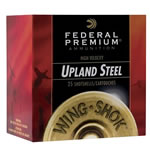 Federal Premium Wing Shok High Velocity PFS1405, 12 Gauge, 3 in, 1 1/4 oz, #5 Steel Shot, 25 Rd/bx