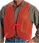 Allen Blaze Orange Hunter&#39s Safety Vest 15750