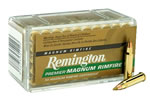 Remington Rimfire Ammunition PR17HM1, 17 HMR, VMAX Boat Tail, 17 GR, 2550 fps, 50 Rd/bx