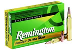 Remington Premier Ultra Mag Rifle Ammunition PR375UM2, 375 Remington Ultra Mag, Soft Point, 270 GR, 2900 fps, 20 Rd/bx