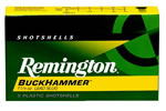 Remington BuckHammer  SP12LSS, 12 Gauge, 2 3/4 in, 1 1/4 oz, 1550 FPS, BuckHammer  Slug, Designed for Rifled Barrels,5 Rd/bx