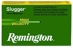 Remington Slugger High Velocity SPHV12MRS, 12 Gauge, 3 in, 7/8 oz, 1875 fps, Foster-Style Slug, For Smooth Bore Guns, 5 Rd/bx