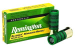 Remington Express Managed Recoil Slug RL12RS, 12 Gauge, 2 3/4 in, 1 oz, 1200 fps, Lead Rifled Slug, 5 Rd/bx