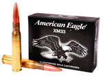 Federal XM Ammunition XM33C, 50 BMG, Full Metal Jacket, 660 GR, 2910 fps, 10 Rd/bx