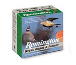 Remington Game/Target Loads GLSTL127, 12 Gauge, Steel, Shot #7 1/2, 25 Rd/bx, Case of 10 Boxes