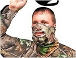 Primos 1/2 Stretch Fit Face Mask Realtree APG HD 6739