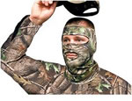 Primos 3/4 Stretch Fit Face Mask Realtree APG HD 3/4 6737