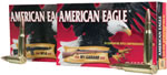 Federal American Eagle Ammunition AE223G, 223 Remington, Jacketed Hollow Point, 50 GR, 3400 fps, 20 Rd/bx